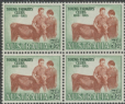 AUS SG267 3½d Young Farmers block of 4